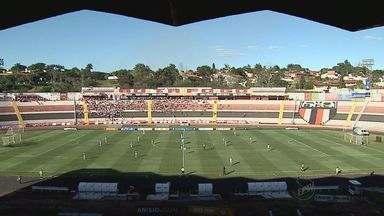Botafogo-SP perde em casa e continua sem vencer na série D - Em dois jogos, a equipe tricolor ainda não fez nenhum gol.