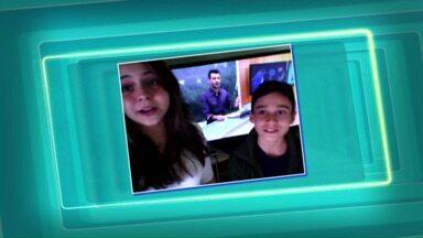 Telespectadores enviam mensagens para o ParanáTV - Você também pode aparecer no ParanáTV. Envie seu vídeo por mensagem para (45) 9951-5958.