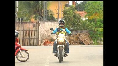 Ptran registra queda nos acidentes com motos em Santarém - Dados são comparação do primeiro semestre deste ano com o de 2014.