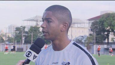 David Braz fala sobre o duelo contra o Sport, pela Copa do Brasil - Partida acontece nesta quarta-feira (22), às 22h, na Vila Belmiro.