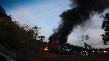 Bombeiros registram 300 focos de queimadas na Região Metropolitana de Goiânia - Moradora cobra mais respeito da população com as pessoas e com o meio ambiente.