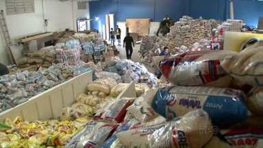 Doações para o Haiti devem ser encaminhadas esta semana - Campanha da Igreja Católica arrecadou toneladas de alimentos