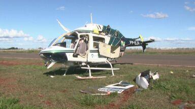 Helicóptero do Graer cai no distrito da Warta - Ninguém ficou ferido.