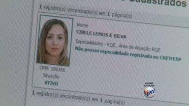 Polícia suspeita que falsa médica fugiu do Brasil - Mulher é conhecida como Vilka e utilizava registro profissional de Cibele Lemos, médica que trabalha na rede pública de Franca (SP).