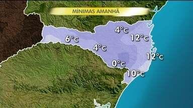Tempo: temperaturas tendem a cair ainda mais nas próximas horas - Tempo: temperaturas tendem a cair ainda mais nas próximas horas