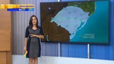 Tempo: calor segue no RS nesta quarta-feira (29) - Previsão é de temo seco na maior parte do RS.