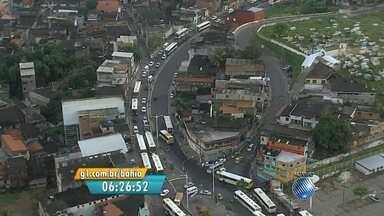 Motorista enfrenta trânsito lento na Avenida Suburbana - Confira no Radar do JM.