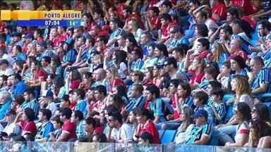 Esporte: Gre-Nal terá torcida mista novamente - Clássico acontece no dia 9 de agosto, na Arena.