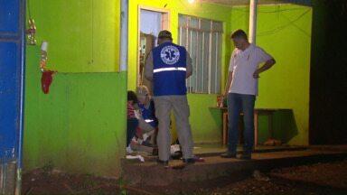 Morador é baleado em tentativa de assalto - Ninguém foi preso, até agora