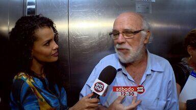 No Em Movimento deste sábado (01) tem um bate papo daqueles no elevador e muito mais - O Em Movimento é sábado, 12h30, na TV Gazeta.