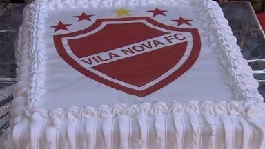 Vila Nova comemora aniversário de 72 anos - Clube promove série de eventos no estádio Onésio Brasileiro Alvarenga.
