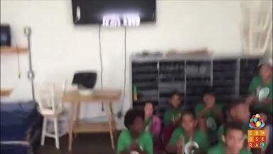 O professor de sapateado Luyz Badijão também mandou seu recado para o Como Será? - Projeto na Associação Beneficente Campineira ensina a dança para cerca de 80 crianças e jovens da ABC Paulista.