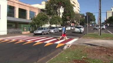 Duas pessoas são atropeladas em Londrina - Até o fim de junho, 21 pessoas morreram atropelas em Londrina.