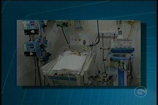 Mais uma reclamação de atendimento envolve o Hospital Dom Malan em Petrolina - Uma mãe que está com o filho de dois meses internando na unidade acusa o hospital de realizar procedimento errado no pé da criança