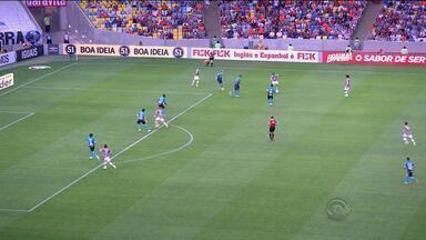 Grêmio perde para o Fluminese na estreia de Ronaldinho - Tricolor gaúcho foi derrotado por 1 a 0 no Maracanã.