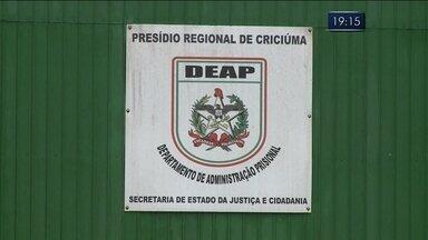 Presídio e penitenciária de Criciúma podem ser interditados; entenda - Presídio e penitenciária de Criciúma podem ser interditados; entenda