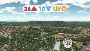 Confira a previsão do tempo para o Vale do Paraíba e região - Dados são do Cptec/Inpe de Cachoeira Paulista.