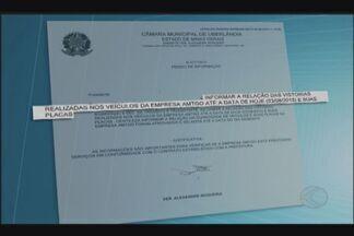 Legislativo de Uberlândia denuncia irregularidades no contrato do transporte escolar - Presidente da Câmara de Vereadores fez acusações durante sessão desta segunda-feira (3). Vereador Silésio Miranda precisou sair da sessão para reunião com prefeito Gilmar Machado.