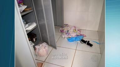 Policlínica de Muriaé é furtada pela 5ª vez em 2015 - Unidade que fica no Bairro José Cirilo foi invadida no fim de semana.Nenhum suspeito foi preso até o momento.