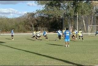 Montes Claros FC treina com jogadores da base de olho na Segundona de 2016 - Clube não tem nenhuma competição oficial para este ano.