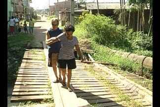 Moradores aguardam por obras de saneamento - Comunidades enfrentam transtornos na Pratinha II e no Jurunas.