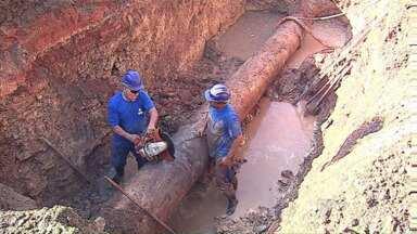 Moradores de Uvaranas ficam sem água hoje - O abastecimento deve voltar ao normal durante a noite.