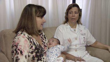 Na semana do aleitamento materno, a importância do laço entre mãe e filho - Na semana do aleitamento materno, a importância do laço entre mãe e filho.