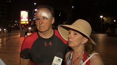 Polícia identifica homem que agrediu turisra americano em Fortaleza - Ele foi assaltado e agredido na semana passada.