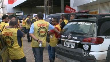 Justiça determina suspensão da greve dos policiais civis no Maranhão - Justiça determina suspensão da greve dos policiais civis no Maranhão