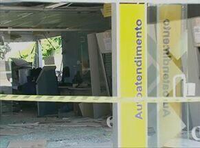 Agências bancárias do Agreste foram alvo de bandidos na madrugada da terça-feira (4) - Ações ocorreram nos municípios de Saloá e Venturosa.