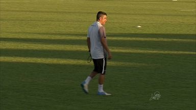 Técnico Marcelo Cabo faz o primeiro treino no Ceará - Treinador começou os trabalhos nesta terça-feira no Porangabussu.