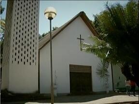 Igrejinha do Horto em Ipatinga precisa de reformas emergenciais - Igreja foi erguida no fim da década de 1950