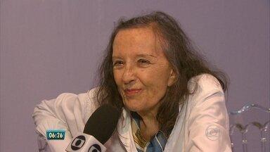 Marianne Peretti é homenageada com lançamento de livro no Recife - Ela foi a única mulher na equipe de Niemeyer na construção de Brasília.