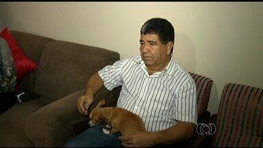 Moradores são autorizados a ter animais de estimação em apartamentos, em GO - Eles entraram na Justiça após condomínio proibir a criação de animais no imóvel.