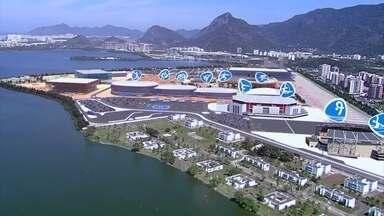 Confira o trabalho de construção do Parque Olímpico, na Barra da Tijuca - Obras começaram pela desmontagem do antigo autódromo de Jacarepaguá