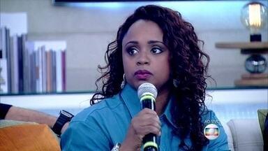 Daiane dos Santos lembra dos comentários sobre seus cabelos - Felipe Simas também fala sobre as diferenças: 'Todos somos iguais no direito de sermos diferentes'