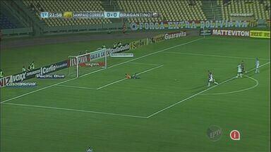 Confira os gols da série B do Brasileirão - O América Mineiro venceu o Paraná por 2 a 0. Já o Bragantino perdeu para o Sampaio Corrêa também de 2 a 0.