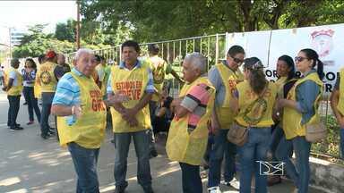 Assembleia geral decide nesta quarta-feira (05) sobre rumo da greve dos Policiais Civis - A Justiça determinou ontem a suspensão da greve no estado e estipulou uma multa de 20 mil reais por dia de descumprimento da decisão.