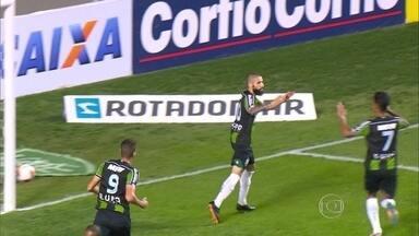 América-MG vence o Paraná por 2 a 0 e assume a liderança da Série B do Brasileiro - Ainda assim, time mineiro pode terminar a rodada fora do G-4 dependendo dos resultados