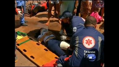 Estudante fica ferida após acidente no bairro Livramento - Batida ocorreu na Rosa Passos com a Muiraquitã.