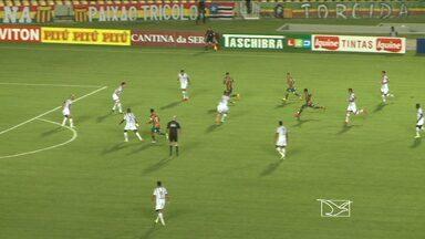 Com golaços de Nádson, Sampaio vence o Bragantino - Nádson marca dois gols de longa distância e garante o triunfo do Sampaio, no Castelão