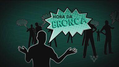 Hora da Bronca - Reclamação de moradores do Gonzaga, em Santos.