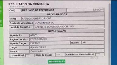 OAB pede mudanças nos portais da transparência dos principais órgãos públicos do Paraná - O comitê formado por advogados, economistas e contadores analisou os portais dos órgãos públicos e teve dificuldade para encontrar o valor dos salários dos servidores.
