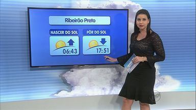 Confira a previsão do tempo para quinta-feira (6) na região de Ribeirão Preto - Em Monte Alto, o dia começa bem fresco, mas depois esquenta bastante.