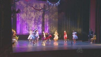 Cidades do Amazonas recebem espetáculo de dança - Atrações foram oferecidas gratuitamente à população.