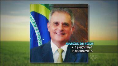 Morreu em Santos o ex-presidente da Portuguesa Santista, Marcus de Rosis - Morreu em Santos o ex-presidente da Portuguesa Santista, Marcus de Rosis.