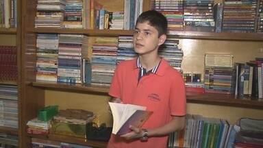 Estudante conquista 3ª lugar em concurso internacional de redação de cartas - Disputa envolveu 1 milhão e meio de estudantes por todo o mundo.
