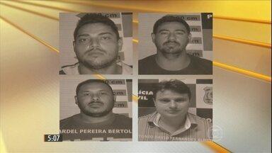 Polícia prende quadrilha de assalto a banco no CE que tinha até um drone - Bandidos usavam equipamento para monitorar e ameaçar funcionários. Um gerente do Banco do Brasil, que segundo a polícia era cúmplice do esquema, também foi preso.