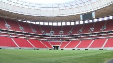 Estádio Mané Garrincha pode ser privatizado - O Mané Garrincha, palco das olimpíadas de 2016, no Distrito Federal, poderá ser privatizado. O Secretário de turismo, Jaime Recena, comenta.