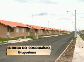 Contemplados de residencial vão receber chave dos imóveis - São dezenas de famílias beneficiadas.